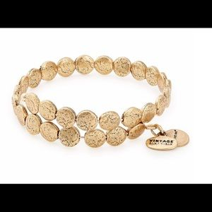 Alex and Ani Gold Colin Wrap